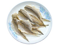 Salted yellow croaker